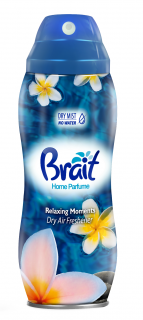 Osvěžovač vzduchu spray BRAIT Relaxing Moments 300ml., bez vody