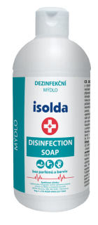 ISOLDA dezinfekční mýdlo, 500ml., DISINFECTION SOAP MEDISPENDER, CORMEN, ZSV02005098