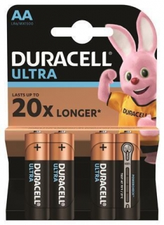 "Baterie ""Ultra Power"", AA, 4 ks, DURACELL"