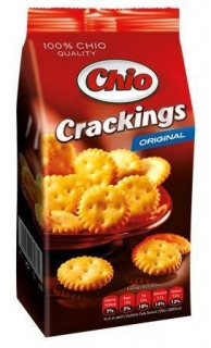 "Krekry, 100 g, CHIO ""Crackings"", solené"