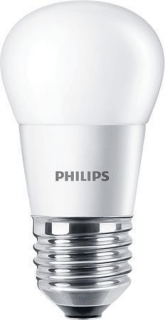 "LED žárovka, mini koule, ""CorePro"" , E27,  P45, 4W, 250lm, 2700K, PHILIPS"